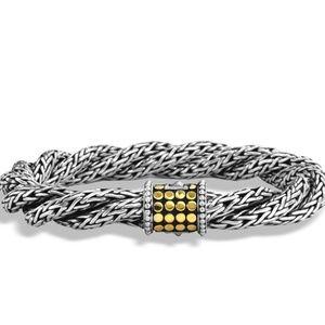 John Hardy | Dot Woven Bracelet